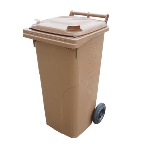 Pojemnik plastikowy na kółkach na BIO odpady