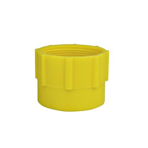 Plastikowa nakrętka DIN (żółta)