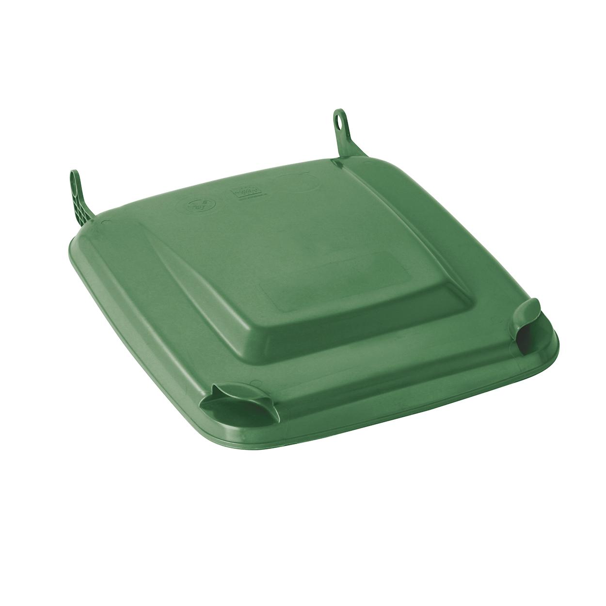 Klapa do plastikowego pojemnika 240 L, zielona