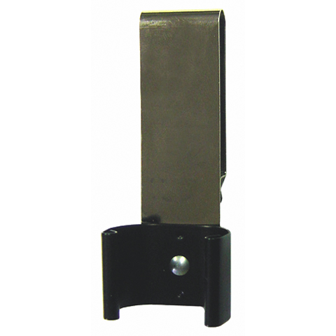 Metalowy uchwyt zaciskowy z zapinką na pasek