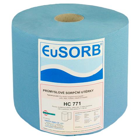 Czyściwo celulozowe dwuwarstwowe 22x36cm (niebieskie)