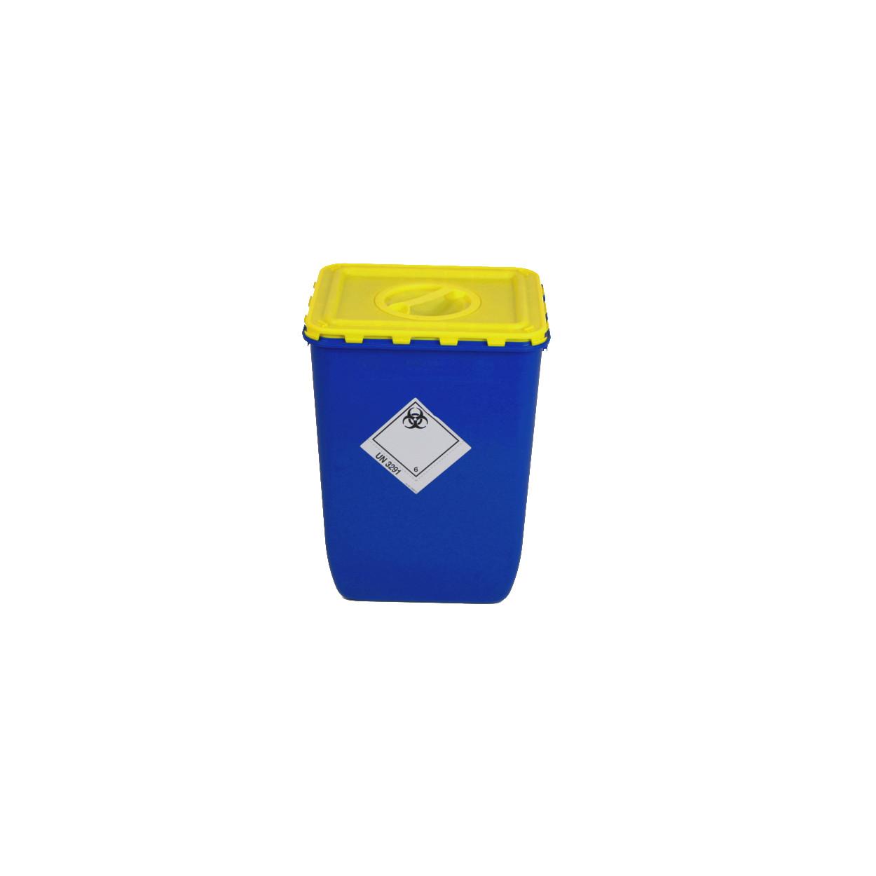Pojemnik z klapą i otworem na zbiórkę bioodpadów - 50L