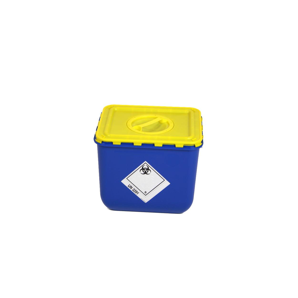 Pojemnik z klapą i otworem na zbiórkę bioodpadów - 30L