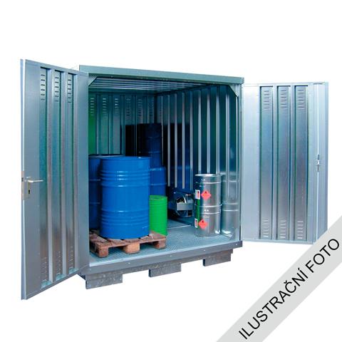 Kontener do przechowywania substancji niepezpiecznych, 2x1