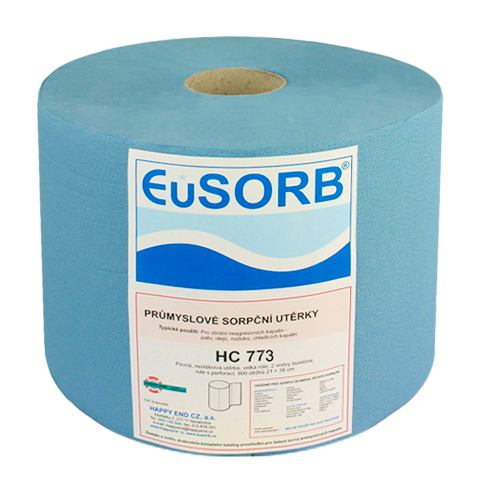 Czyściwo celulozowe dwuwarstwowe 38x36cm (niebieskie)