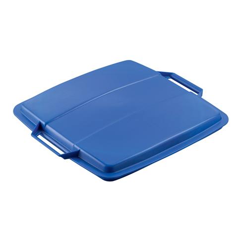Pokrywa pojemnika na odpady, niebieska