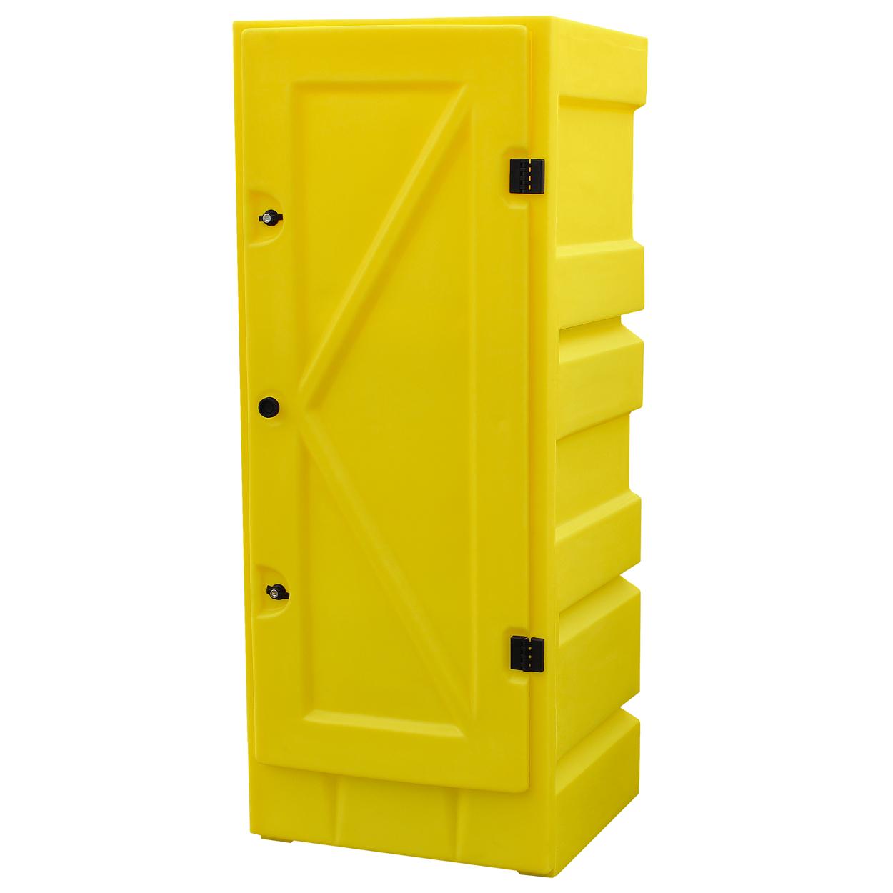 Zamykana szafka na materiały żrące