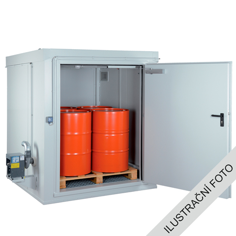 Kontener przeciwpożarowy - odporność 90 minut