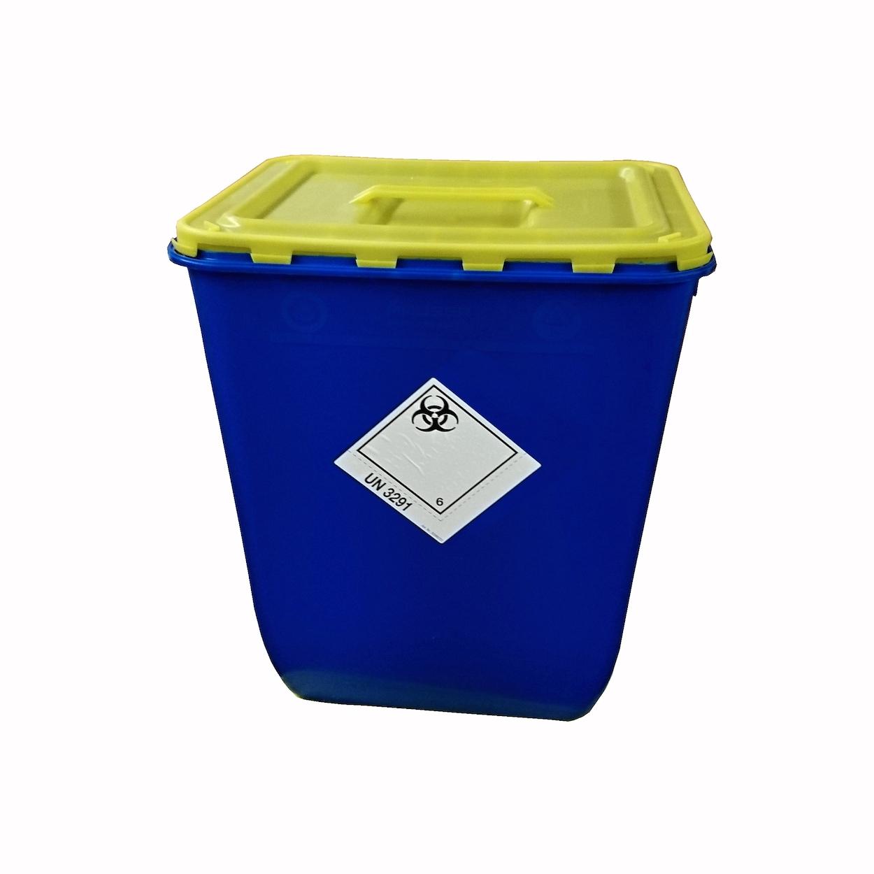 Pojemnik z klapą i uchwytem na zbiórkę bioodpadów - 50L