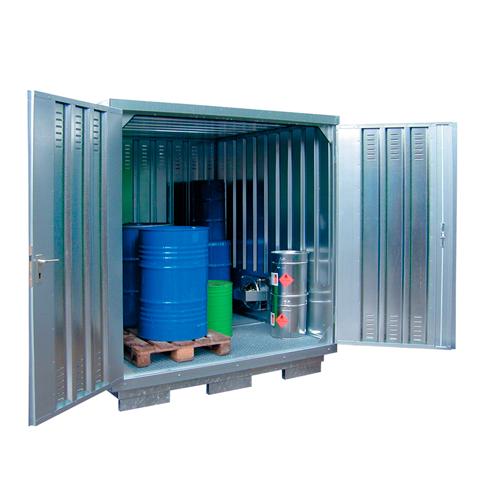Kontener do przechowywania substancji niepezpiecznych, 2x2