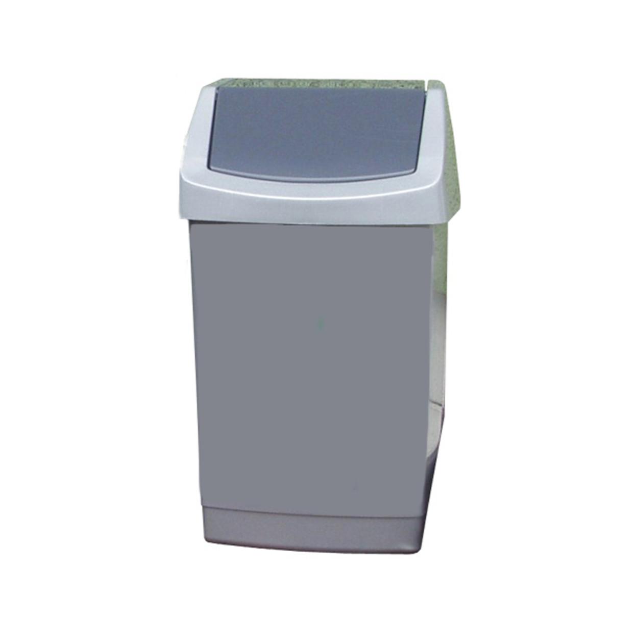 Kosz na śmieci, plastikowy, MIDI, 50 l