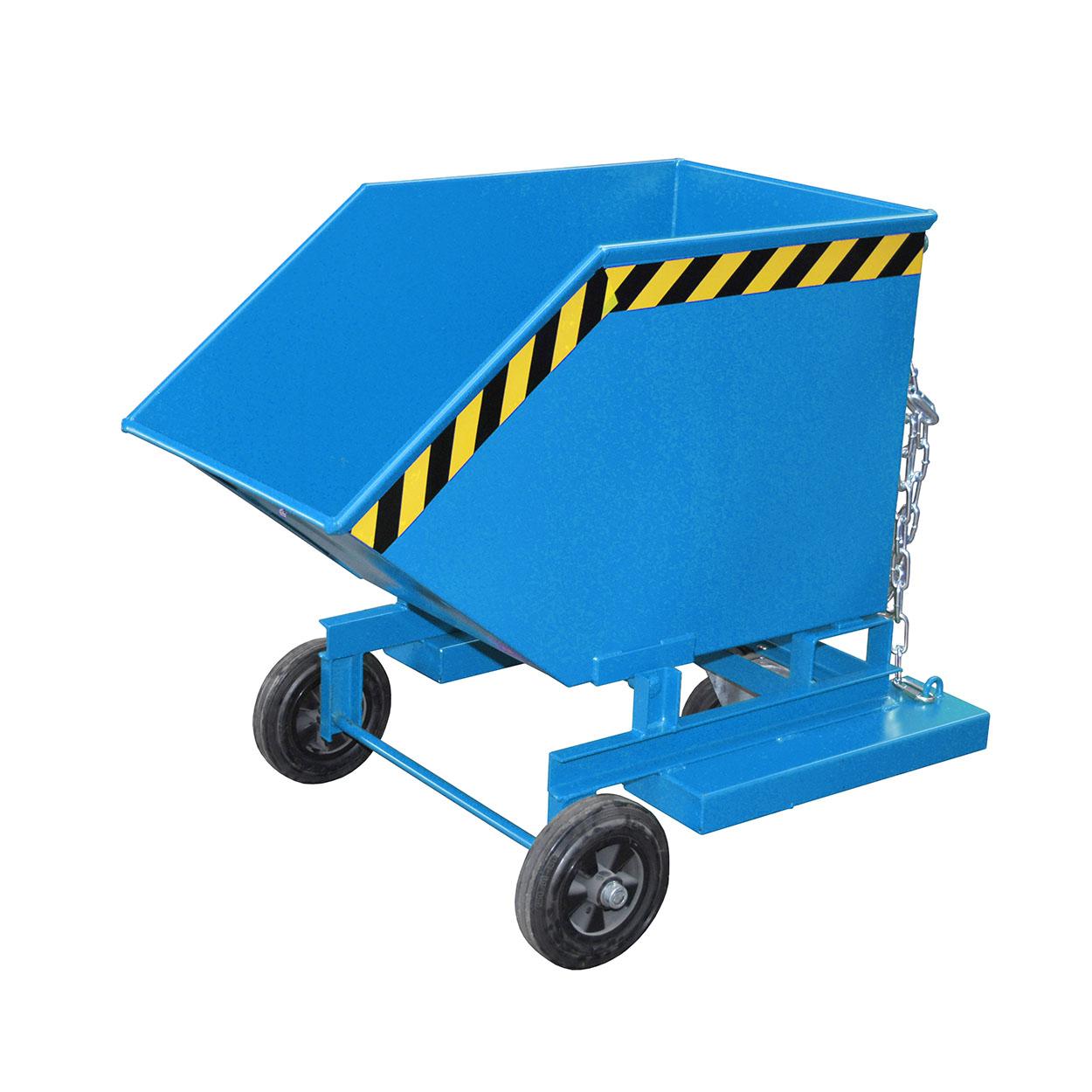 Wózek-wywrotka z pokrywą