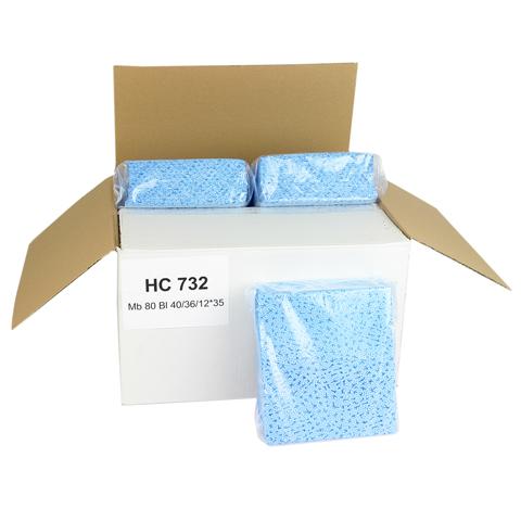 Czyściwo polipropylenowe, mocne 40x36cm (niebieskie)