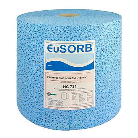 Czyściwo polipropylenowe, mocne 32x36cm (niebieskie)