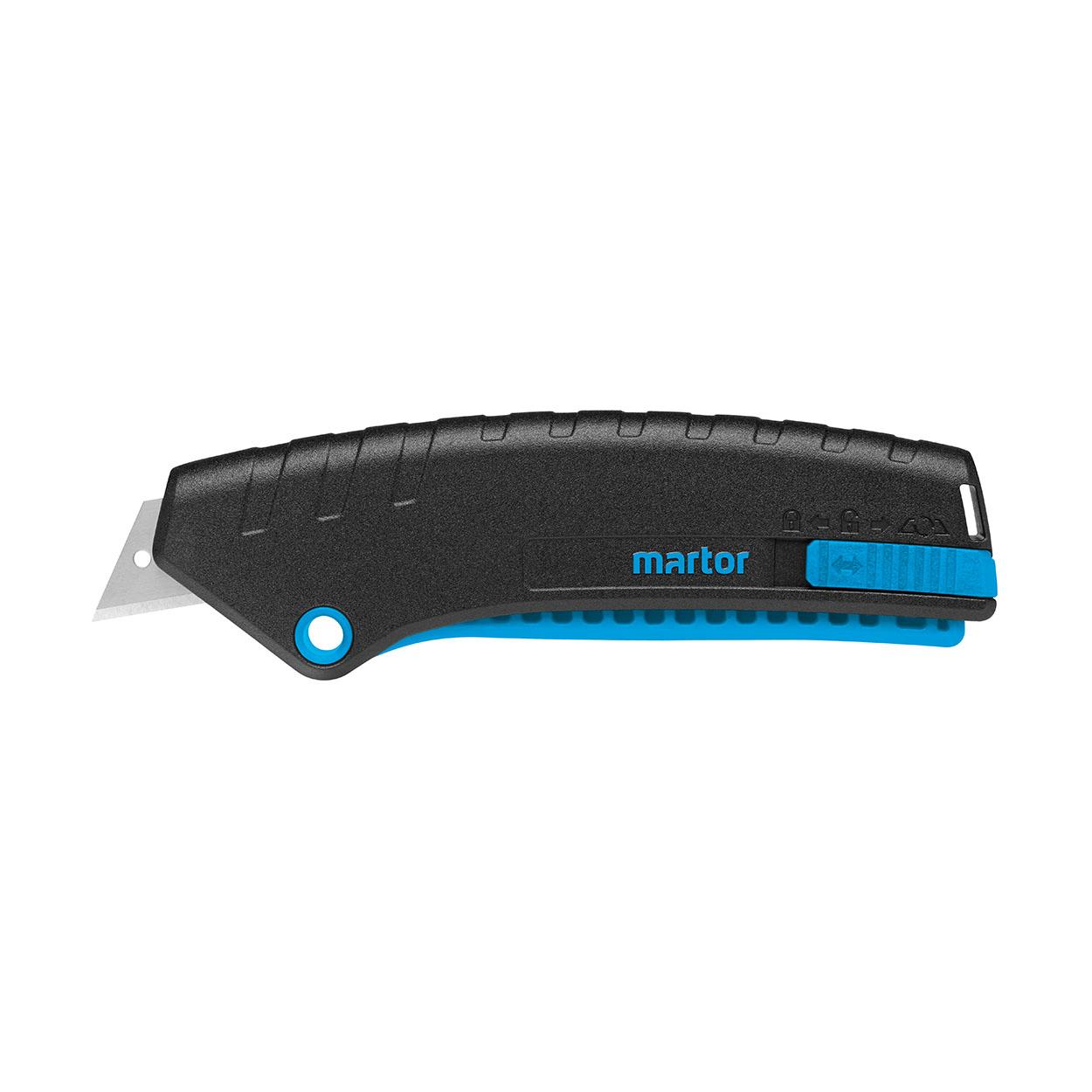 SECUNORM MIZAR - Lekki bezpieczny nóż z mechanizmem dźwignio
