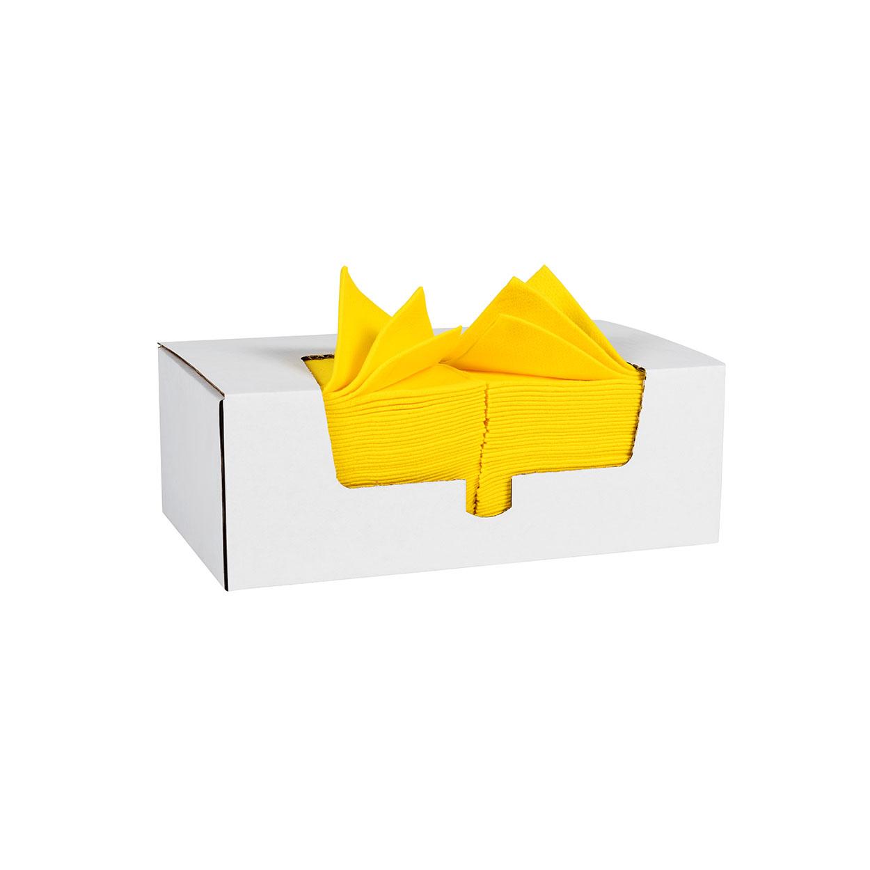 Kolorowa ściereczka czyszcząca na większe zabrudzenia - żółt