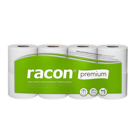 Papier toaletowy PREMIUM w małych rolkach