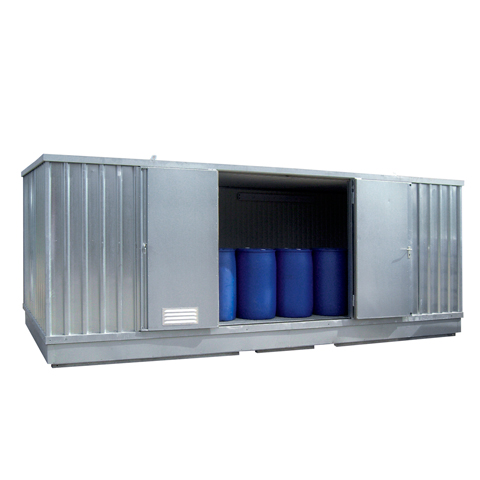 Kontener z izolacją cieplną i ogrzewaniem, 6x3