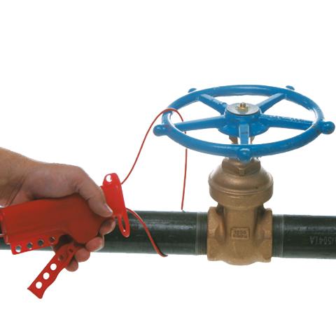 Uniwersalna linka blokująca do zaworów - kabel metalowy, 2,4