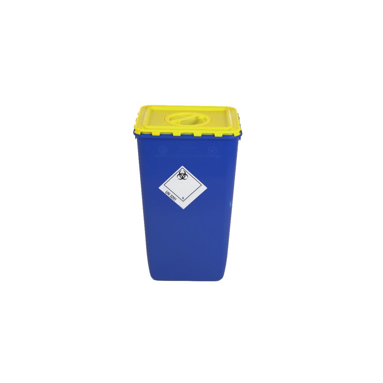 Pojemnik z klapą i otworem na zbiórkę bioodpadów - 60L