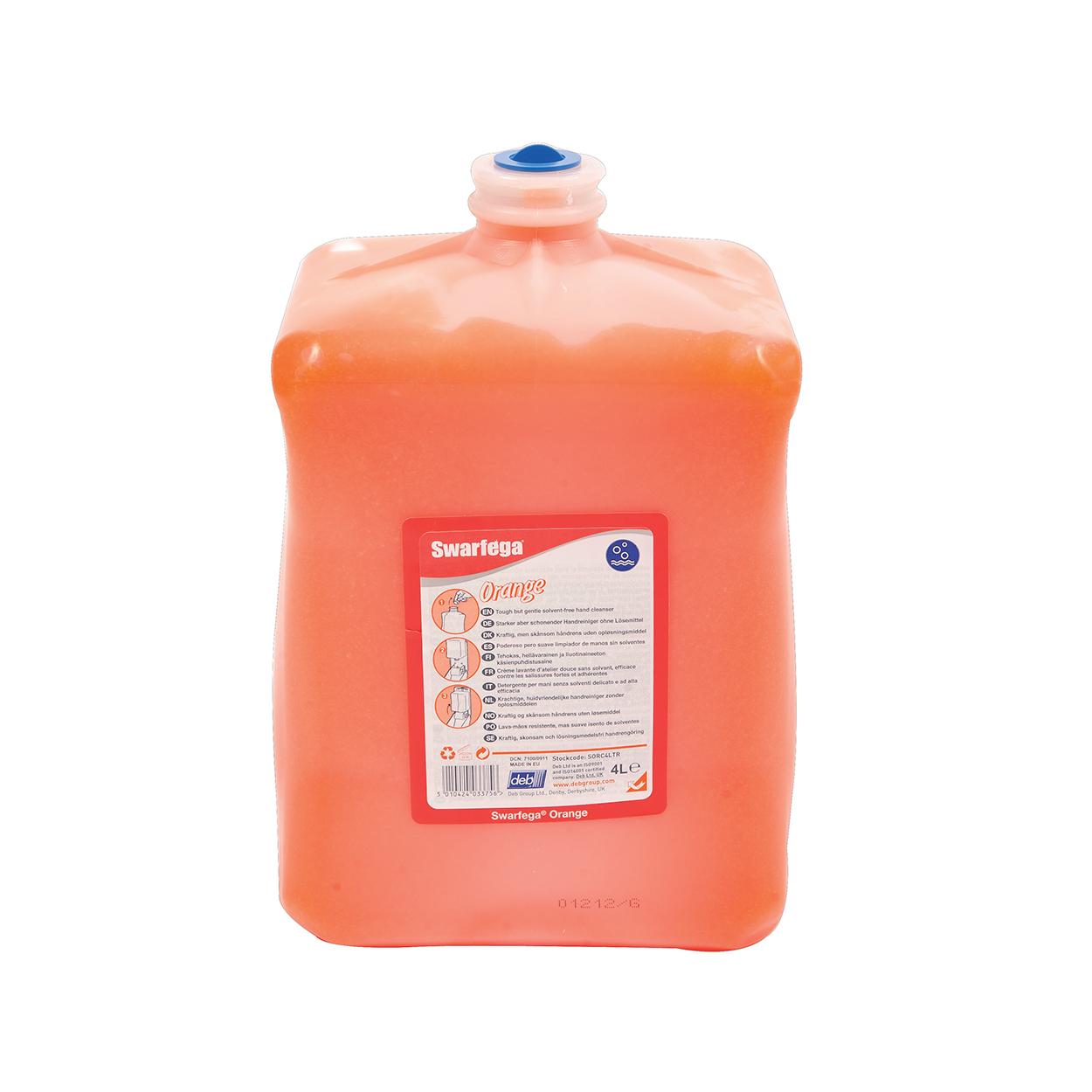 Delikatny i efektywny środek do czyszczenia rąk  Swarfega Orange