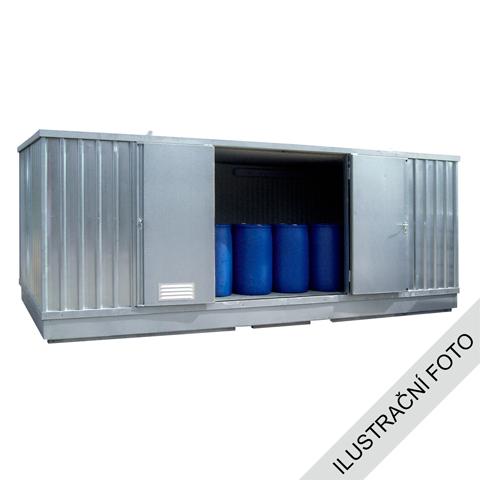 Kontener z izolacją cieplną i ogrzewaniem, 4x3
