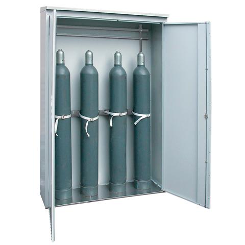 Szafa do magazynowania butli gazowych