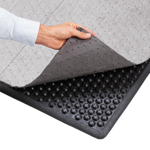 Mata przemysłowa z sorbentem tekstylnym (87x157cm)