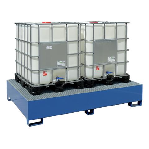 Wanna wyłapująca pod 2 kontenery IBC