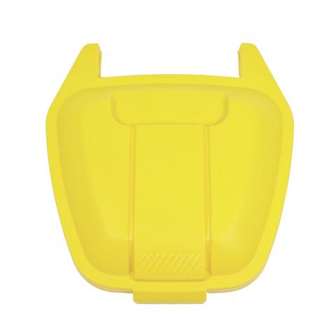 Pokrywa do pojemnika żółta