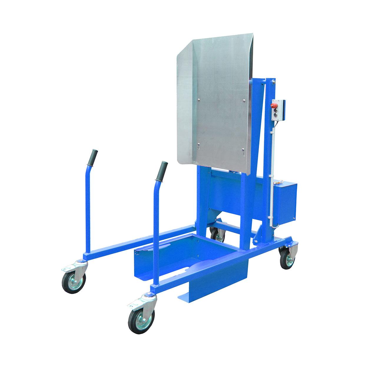 Samojezdna wywrotka do kontenerów, elektryczno-hydrauliczna